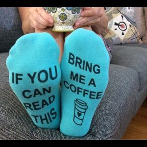 3/$15 Bring Me Coffee' Socks